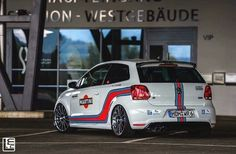 Polo Jdm, Polo R, Martini Racing, Volkswagen Polo, Road Runner, Cars And Motorcycles, Garage, Vehicles, Girls