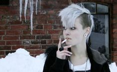 mohawk hairstyles for white women - Google Search