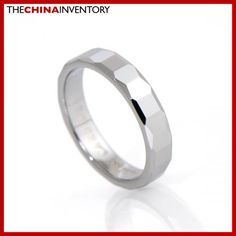 4MM SIZE 4 TUNGSTEN CARBIDE WEDDING BAND RING R1406B Cheap Silver Jewelry, Trendy Jewelry, Gold Jewelry, Tungsten Carbide Wedding Bands, Fashion Jewellery Online, Best Jewelry Stores, Wedding Ring Bands, Link Bracelets, Gemstone Jewelry