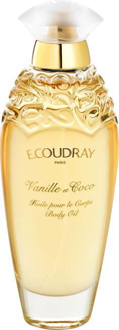E. Coudray Vanille et Coco Perfumed Body Oil 100ml