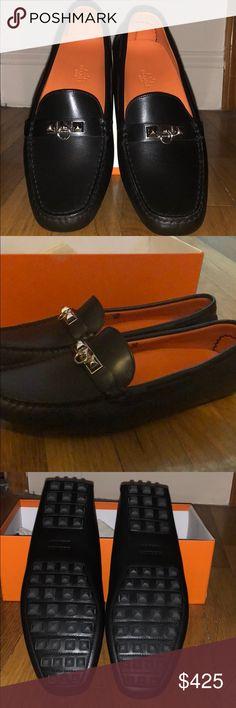 d0e3e83344cd Hermes womens Irving Loafers Never worn