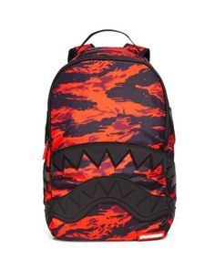 Sprayground Boys' Shark Mouth Camo Backpack - 100% Bloomingdale's Exclusive | Bloomingdale's