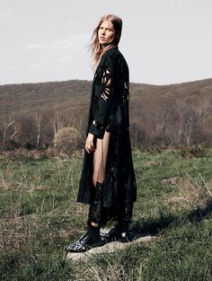 Laura Julie by Daniel Jackson for Vogue China September 2015 | The Fashionography