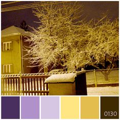 Ostrava - winter night