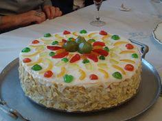 Hippocrene Cooks!:Cassata Siciliana (Sicilian Cake) recipe