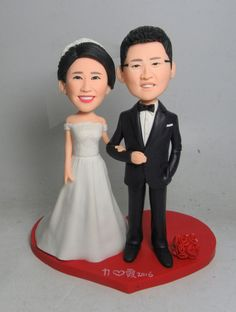 Wedding bobbleheads are also come in ready made forms or in custom shapes and sizes depending on the requirement. Bobble Head, Pairs, Shapes, Make It Yourself, Disney Princess, How To Make, Wedding, Valentines Day Weddings, Weddings