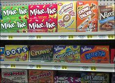 Mike and Ike Merchandised on Shelf Main