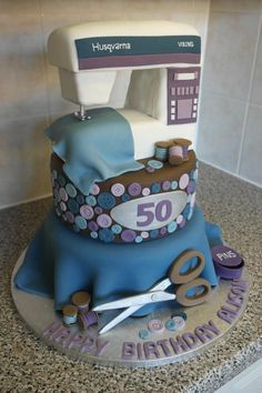 Awesome Sewing Cake