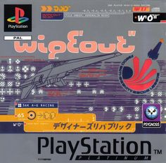 Billedresultat for wipeout game cover
