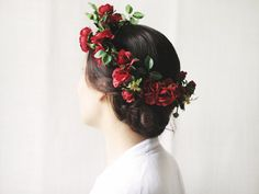 Red berries by katerinaRam on Etsy