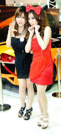 33rd Bangkok International Motor Show Booth babes