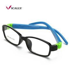 0114f41f94 Lindo Niños Gafas de Marco de Acetato De Goma Flexible Gafas Niños Gafas de Marcos  Ópticos