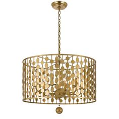 Buy the Crystorama Lighting Group Antique Gold Direct. Shop for the Crystorama Lighting Group Antique Gold Layla 6 Light Wide Chandelier and save. Metal Chandelier, Globe Chandelier, Chandelier Shades, Chandelier Lighting, Bedroom Lighting, Interior Lighting, Crystal Chandeliers, Antique Chandelier, Drum Pendant