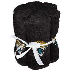Jacksonville Jaguars NFL Washcloths (6 Pack)