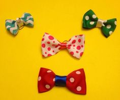Bow Wow Bows and Bow ties