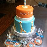 Nate & Max 1st Birthday 作者 emmacakes
