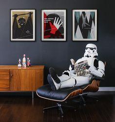Famous Designer Recreates Classic 'Star Wars' Prints With Modern Design Elements - DesignTAXI.com