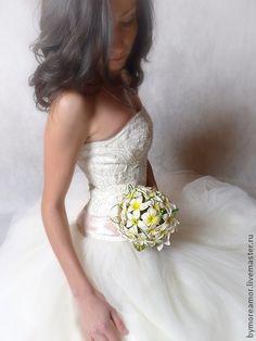 "Букет невесты ""Плюмерия"". Handmade."