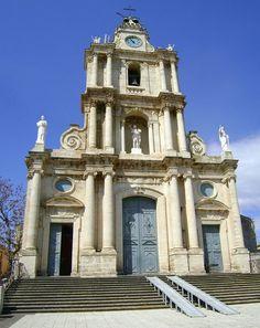 """Chiesa di San Giovanni Battista, Monterosso Almo, set de """"il Capo dei capi"""" e """"Nuovo Cinema Paradiso"""" #sicilycinema #visitsicily"""