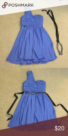 Adorable one shoulder Express dress Excellent condition, super cute Express Dresses Mini