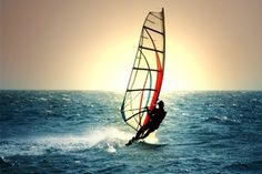 Windsurfing || I've done it once in Jericho Beach; I definitely want to do it again!