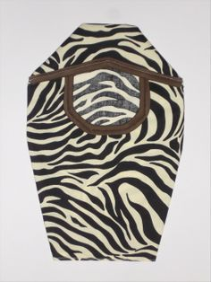 Zebra Design Ostomy Pouch Cover