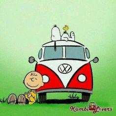 Snoopy Charlie Brown Woodstock The Peanuts Charles Schulz Snoopy Love, Charlie Brown Und Snoopy, Snoopy And Woodstock, Snoopy Hug, Camp Snoopy, Vw Bus, Vw T1 Camper, Peanuts Cartoon, Peanuts Snoopy