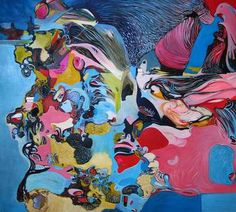 "Saatchi Art Artist Diana Roig; Painting, ""The elephant in the room"" #art"