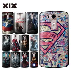 For funda LG G3 super heroes hard PC back cover for coque LG G3 case 2016 new arrivals for capa LG G3 mini G3S G3 Beat Case