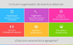 Cualidades que debe tener un organizador de eventos «  Blog de Eventioz.com