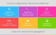 Cualidades que debe tener un organizador de eventos | Blog de Eventioz.com