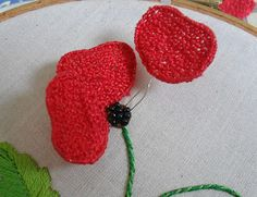 Sew in Love: Assembling a Wired Stumpwork Flower