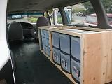 Cheap but lots of storage - van ideas