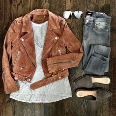 5 Ways to Wear Gray Jeans #jeans