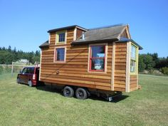 The Mighty Micro House: 136 Sq. Ft. Cabin on Wheels For Sale Photo