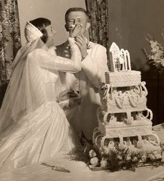 Real 1950s wedding July 1955