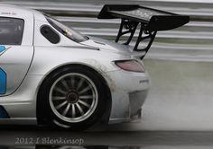 Preci-Spark Mercedes SLS GT3 - Oulton Park British GT Championship 2012