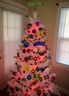 Sesame Street christmas tree