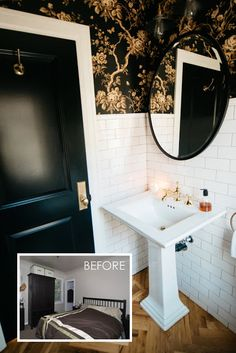 As a lifelong New Yorker, having a small bathroom is just one of those things that most of us live with at one time or another (or forever!)...