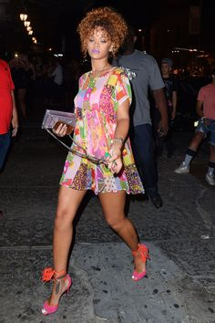 Out in New York City's Meatpacking District with Katy Perry.