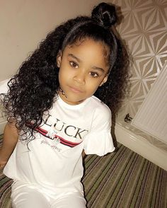 Best Picture For children hair styles curly For Your Taste You are looking for something, and it is going to … Cute Mixed Babies, Cute Black Babies, Black Baby Girls, Beautiful Black Babies, Cute Baby Girl, Cute Little Girls, Beautiful Children, Cute Babies, Mixed Kids Hairstyles