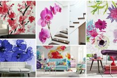 Blooming Floral Wall Murals That You Will Love To Have
