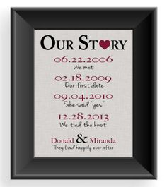 Valentine's Day Gift  First Anniversary Gift by KreationsbyMarilyn, $15.00
