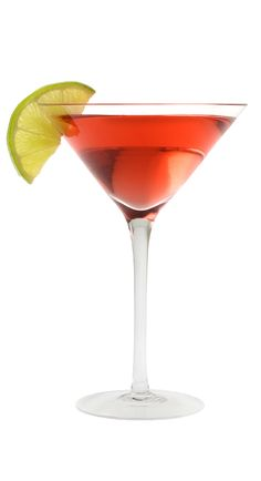 1 oz vodka, ½ oz triple sec, ½ oz fresh lime juice, ½ oz cranberry juice, 1 lime wedge ~~~ Combine first four ingredients in a shaker filled with ice. Shake and strain into a martini glass. Garnish with lime wedge. Spring Cocktails, Cocktail Drinks, Cocktail Recipes, Drink Recipes, Cucumber Vodka, Citrus Vodka, Coconut Vodka, Pineapple Coconut, Cranberry Juice And Vodka