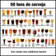 50 tons de cerveja