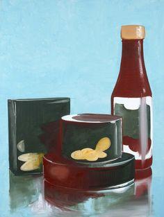 food, 2008/ Wilhelm Sasnal