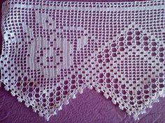 Gallery.ru / Фото #20 - 36 - ergoxeiro Crochet Edging Patterns, Crochet Lace Edging, Christmas Crochet Patterns, Love Crochet, Crochet Flowers, Knit Crochet, Filet Crochet, Crochet Flower Tutorial, Knitted Blankets