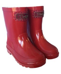 Boy - Fashion - Child - Kids - Gumboots - Rain Boots - Shoes ...