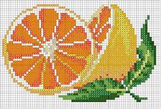 Ponto cruz: Frutas                                                                                                                                                                                 Mais