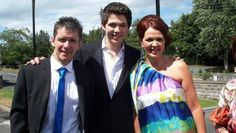 Damian McGinty and his parents